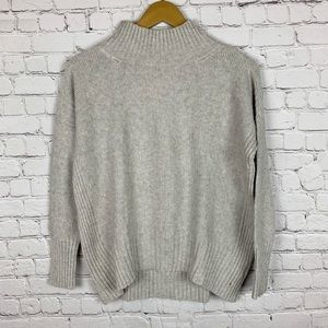 ANGEL OF THE NORTH by ANTHROPOLOGIE  Gray Sweater